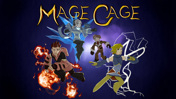 Mage Cage title screen